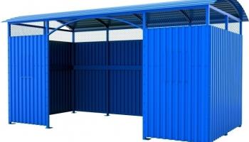 Ограждения для контейнеров | Ограждения для мусора и ТБО