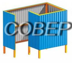 Кабинки для переодевания | Купить кабинку для переодевания в Минске